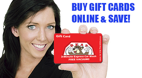 Car Wash Gift Cards